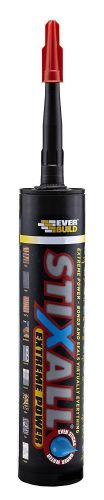 Everbuild Stixall Extreme Power Black Bonds & Seals Virtually Everything 300ml